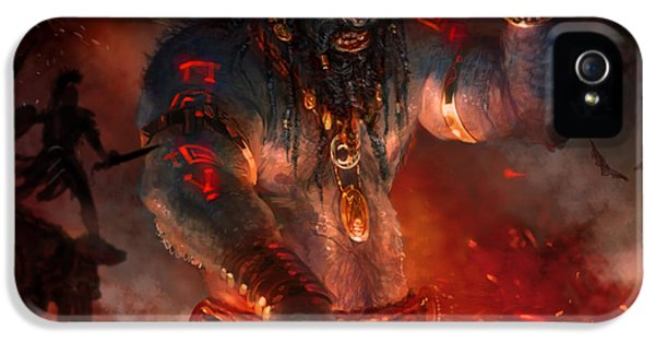 Maker Of The World IPhone 5s Case by Ryan Barger
