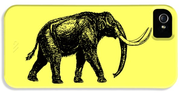 Mammoth Tee IPhone 5s Case by Edward Fielding