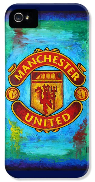 Manchester United Vintage IPhone 5s Case
