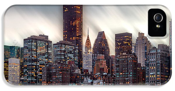 Manhattan Daze IPhone 5s Case by Az Jackson