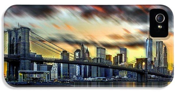 Manhattan Passion IPhone 5s Case by Az Jackson