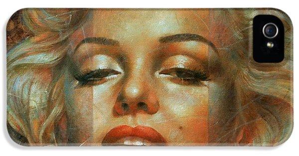 Marilyn Monroe IPhone 5s Case by Arthur Braginsky