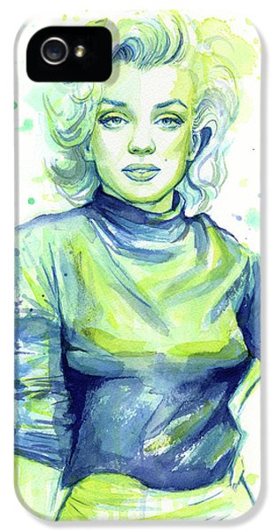 Marilyn Monroe IPhone 5s Case by Olga Shvartsur