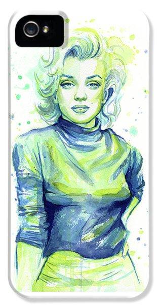 Marilyn Monroe IPhone 5s Case by Olga Shvartsur
