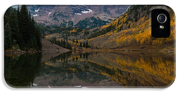 Maroon Bells IPhone 5s Case by Gary Lengyel