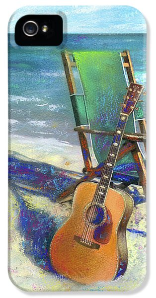 Martin Goes To The Beach IPhone 5s Case by Andrew King