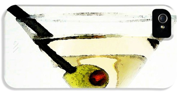 Martini With Green Olive IPhone 5s Case