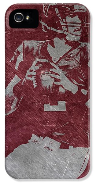 Matt Ryan Atlanta Falcons IPhone 5s Case by Joe Hamilton
