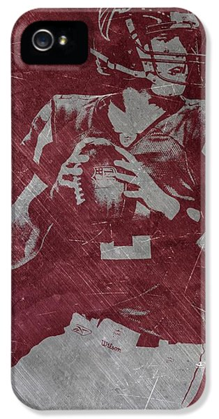 Matt Ryan Atlanta Falcons IPhone 5s Case by Joe Hamilton