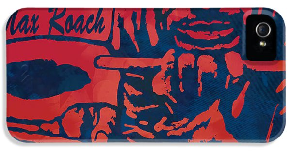 Sonny iPhone 5s Case - Max Roach Pop  Stylised Art Sketch Poster by Kim Wang