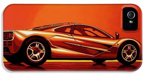 Car iPhone 5s Case - Mclaren F1 1994 Painting by Paul Meijering