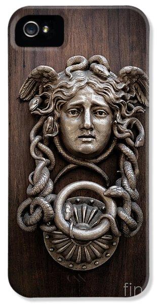 Medusa Head Door Knocker IPhone 5s Case by Edward Fielding