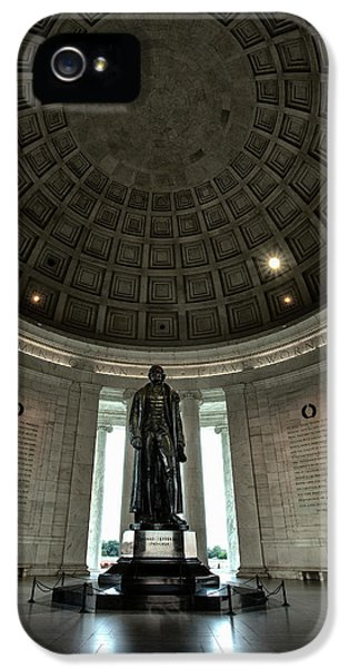 Memorial To Thomas Jefferson IPhone 5s Case by Andrew Soundarajan