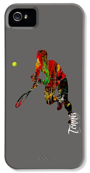 Mens Tennis Collection IPhone 5s Case by Marvin Blaine