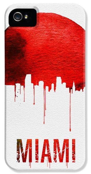 Miami Skyline Red IPhone 5s Case