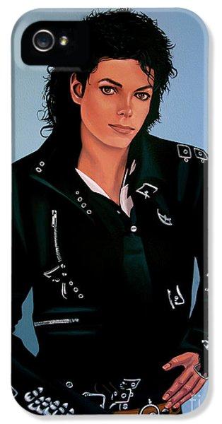 Michael Jackson Bad IPhone 5s Case by Paul Meijering