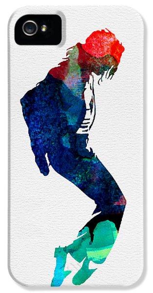 Michael Watercolor IPhone 5s Case by Naxart Studio