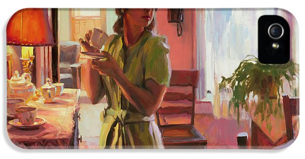 Nostalgia iPhone 5s Case - Midday Tea by Steve Henderson