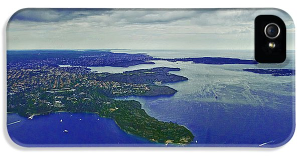 Middle Head And Sydney Harbour IPhone 5s Case by Miroslava Jurcik