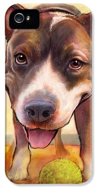 Bull iPhone 5s Case - Live. Laugh. Love. by Sean ODaniels
