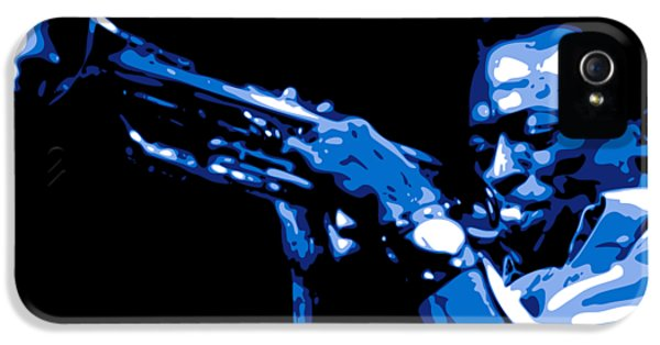 Trumpet iPhone 5s Case - Miles Davis by DB Artist