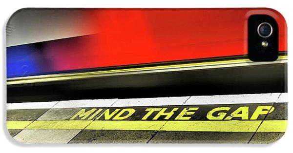 Mind The Gap IPhone 5s Case