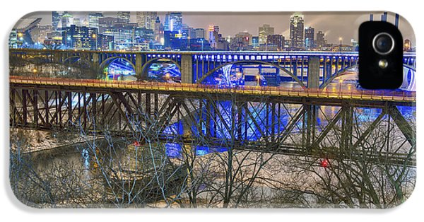 University Of Minnesota iPhone 5s Case - Minneapolis Bridges by Craig Voth