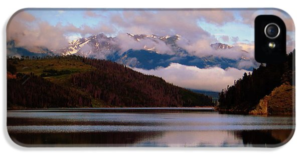 Misty Mountain Morning IPhone 5s Case by Karen Shackles