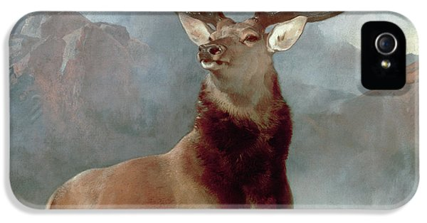 Animals iPhone 5s Case - Monarch Of The Glen by Sir Edwin Landseer