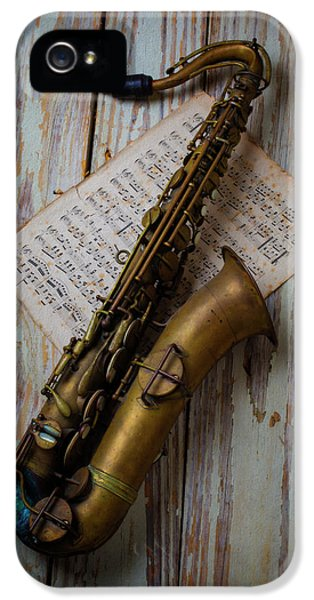 Moody Sax IPhone 5s Case