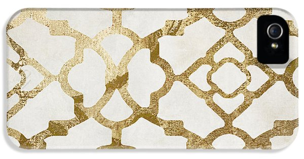 Pattern iPhone 5s Case - Moroccan Gold I by Mindy Sommers