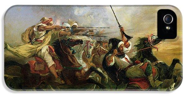 Moroccan Horsemen In Military Action IPhone 5s Case