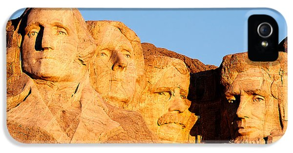 Mount Rushmore IPhone 5s Case by Todd Klassy