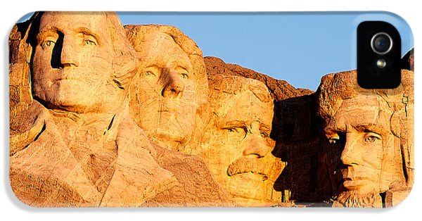Mount Rushmore IPhone 5s Case