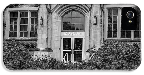 Msu Museum Black And White  IPhone 5s Case by John McGraw