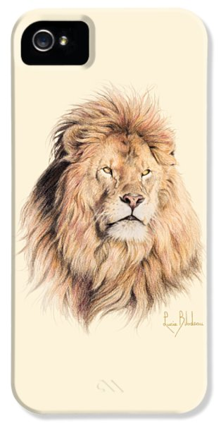 Mufasa IPhone 5s Case by Lucie Bilodeau