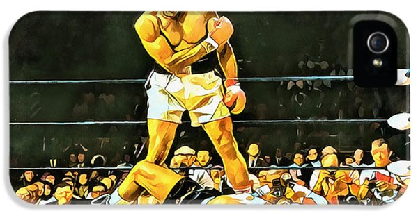 Sonny iPhone 5s Case - Muhammad Ali Knockout by Dan Sproul
