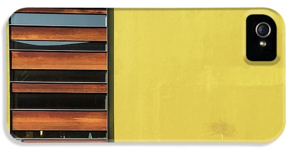 iPhone 5s Case - Mustard Wall by Julie Gebhardt
