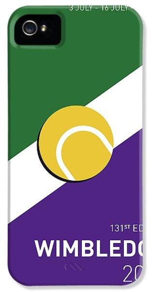 My Grand Slam 03 Wimbeldon Open 2017 Minimal Poster IPhone 5s Case by Chungkong Art