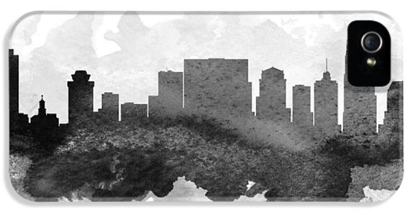 Nashville Cityscape 11 IPhone 5s Case by Aged Pixel