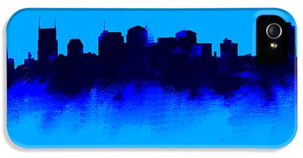 Nashville  Skyline Blue  IPhone 5s Case