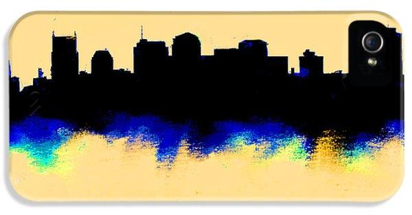 Nashville  Skyline  IPhone 5s Case by Enki Art