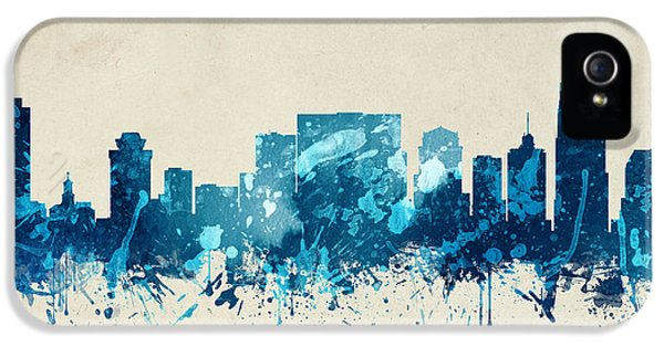 Nashville Tennessee Skyline 20 IPhone 5s Case by Aged Pixel