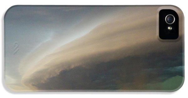 Nebraskasc iPhone 5s Case - Nebraska Thunderstorm Eye Candy 026 by NebraskaSC