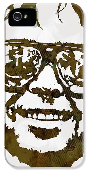 Neil Young Pop  Stylised Art Sketch Poster IPhone 5s Case by Kim Wang