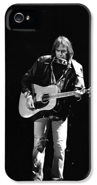 Neil Young IPhone 5s Case by Wayne Doyle