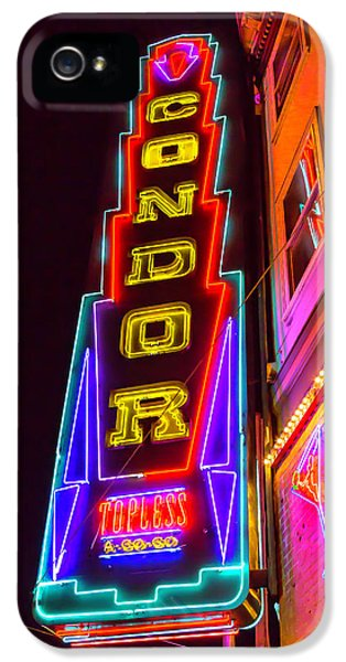 Neon Condor San Francisco IPhone 5s Case