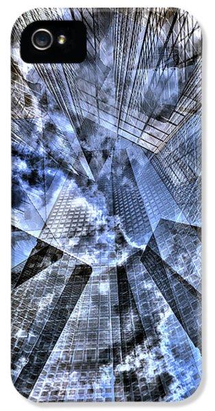 New York Iris Collage IPhone 5s Case