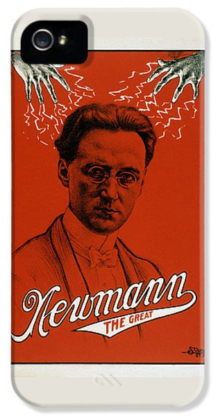 Newmann The Great - Vintage Magic IPhone 5s Case by War Is Hell Store