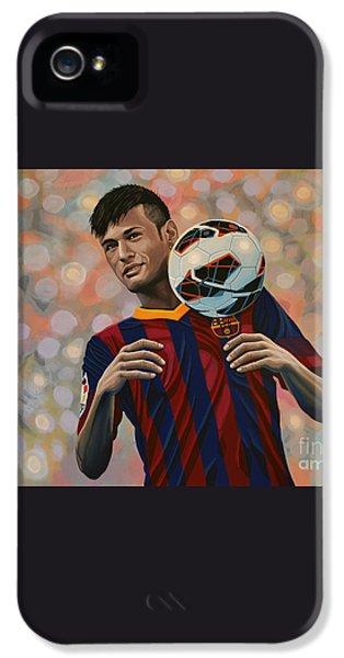 Neymar IPhone 5s Case by Paul Meijering